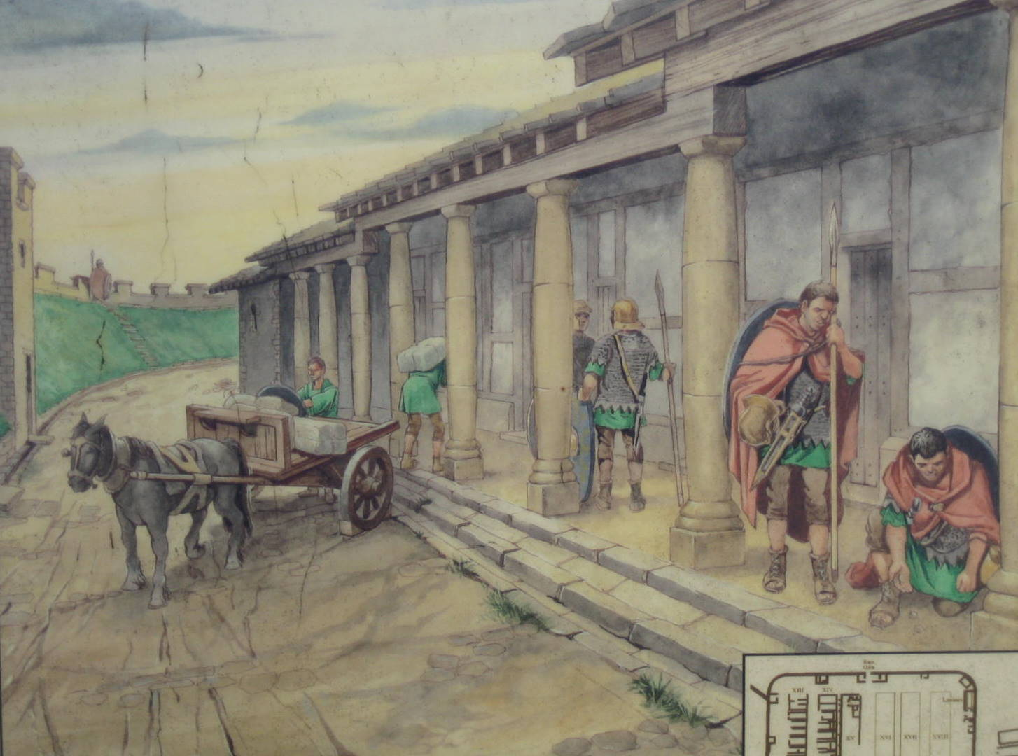 Who Commanded To Build Antonine Wall