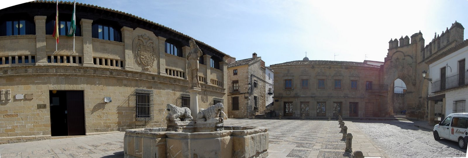 Baeza Spain  city pictures gallery : Baeza Plaza del Populo